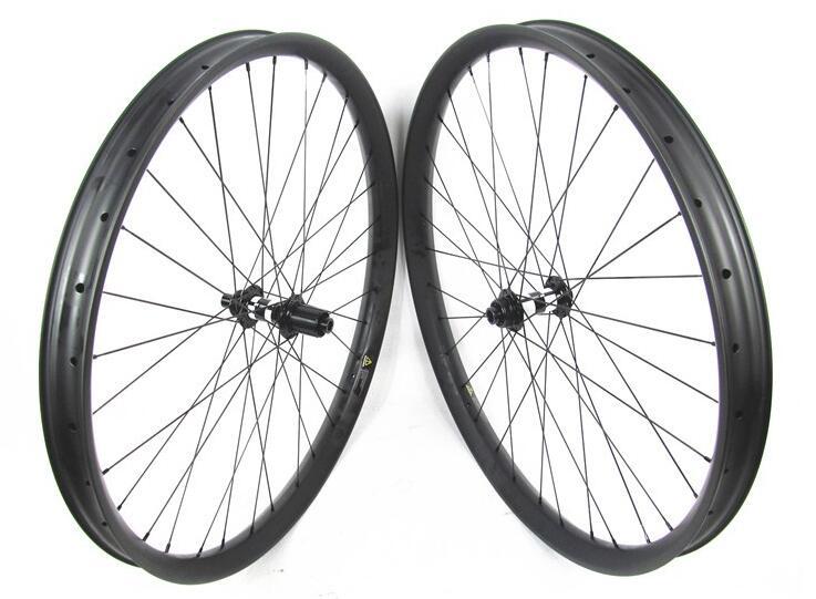 Farsports FS29T-50-25 DT350 Boost 29er montagne de carbone vélo roues 50 W 25D pneu DT 350 S Boost hub Thru Alxe 15*110/12*148