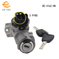 IGNITION LOCK BARREL 5 PINS FOR FIAT DUCATO CITROEN JUMPER RELAY PEUGEOT BOXER on 2006