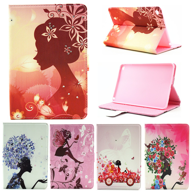 For iPad Mini 1 2 3 Cover Bling Wallet Leather PU Stand Case Girl Kids Gift Protect Cover For Apple Ipad Mini2 Mini3 Tablet Case защитное стекло для ipad mini mini 2 mini 3 protect