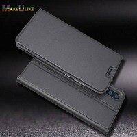 Funda delgada para HuaWei P20 Pro P10 Plus P9 lite, Funda de cuero PU con tapa magnética para Huawei Honor 9 7X 6X Mate 9 10 Lite