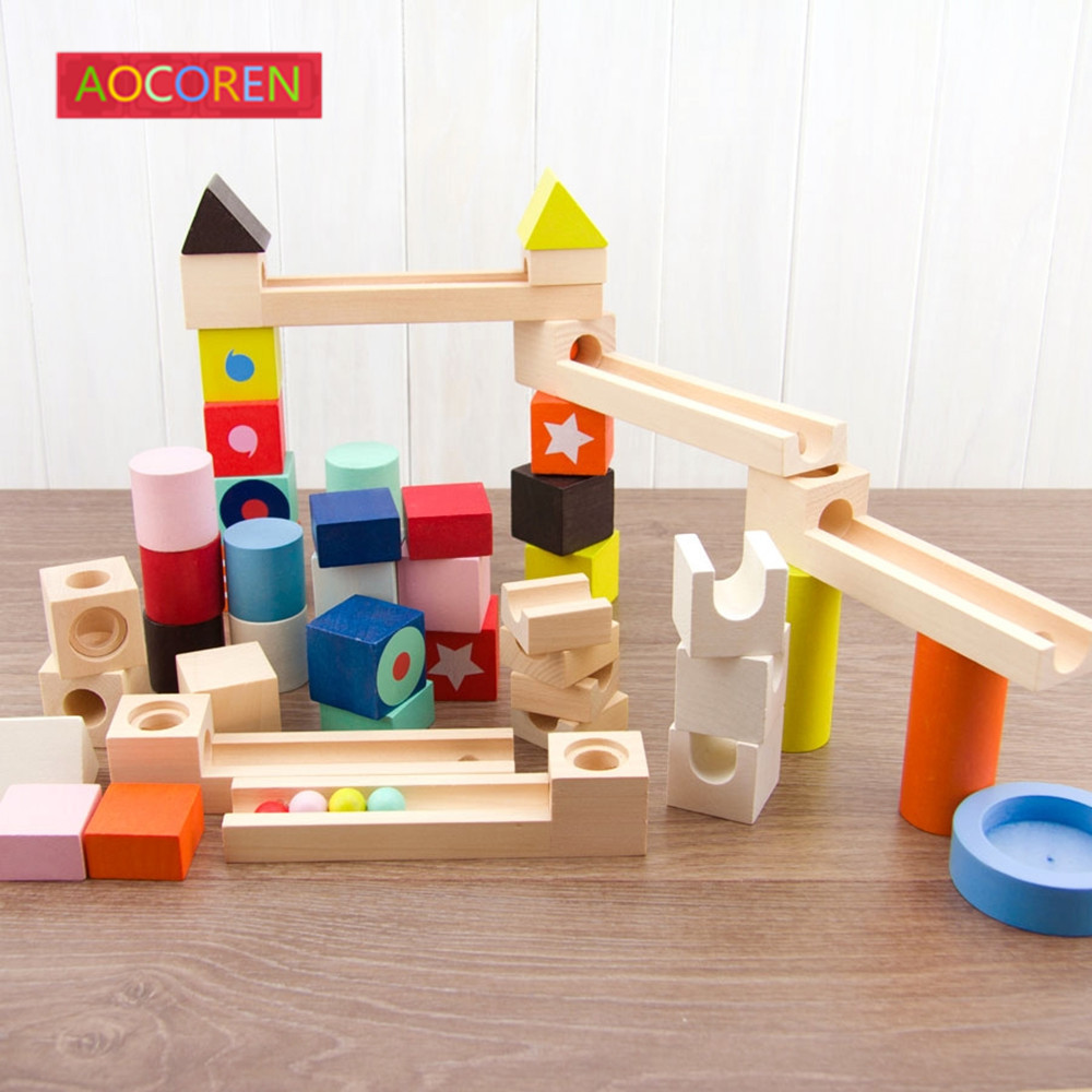 Aocoren 50pcs Building Blocks Bricks Toys Model Building Kids DIY Educational Block For Children Gifts 12 style one piece diamond building blocks going merry thousand sunny nine snakes submarine model toys diy mini bricks gifts
