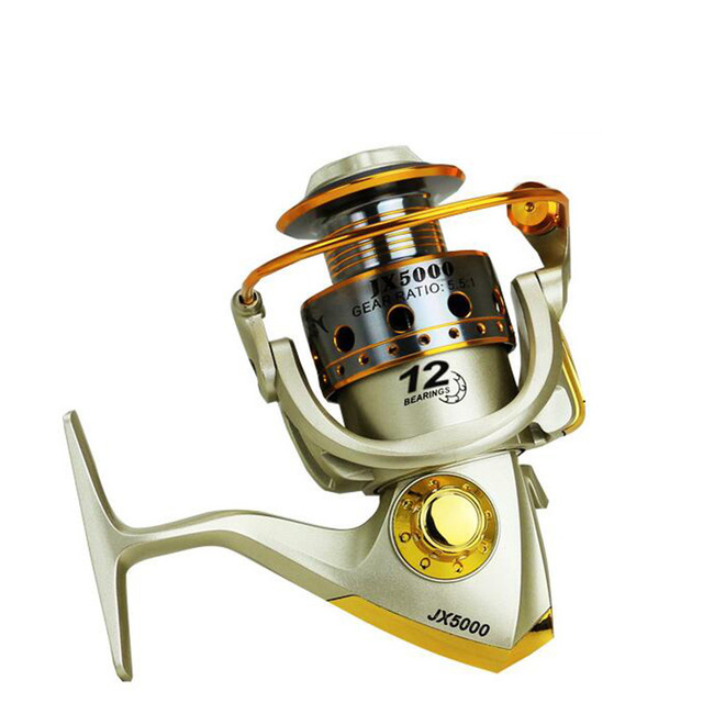 Hot Selli 1000-7000 12BB Fishing Reel fly fishing reel Carp Feeder Spinning Fishing Reels Carretilhas de pesca Moulinet molinete