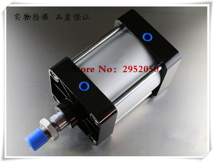 SC200*800 Free shipping Standard air cylinders valve 200mm bore 800mm stroke single rod double acting pneumatic cylinder mgpm63 200 smc thin three axis cylinder with rod air cylinder pneumatic air tools mgpm series mgpm 63 200 63 200 63x200 model