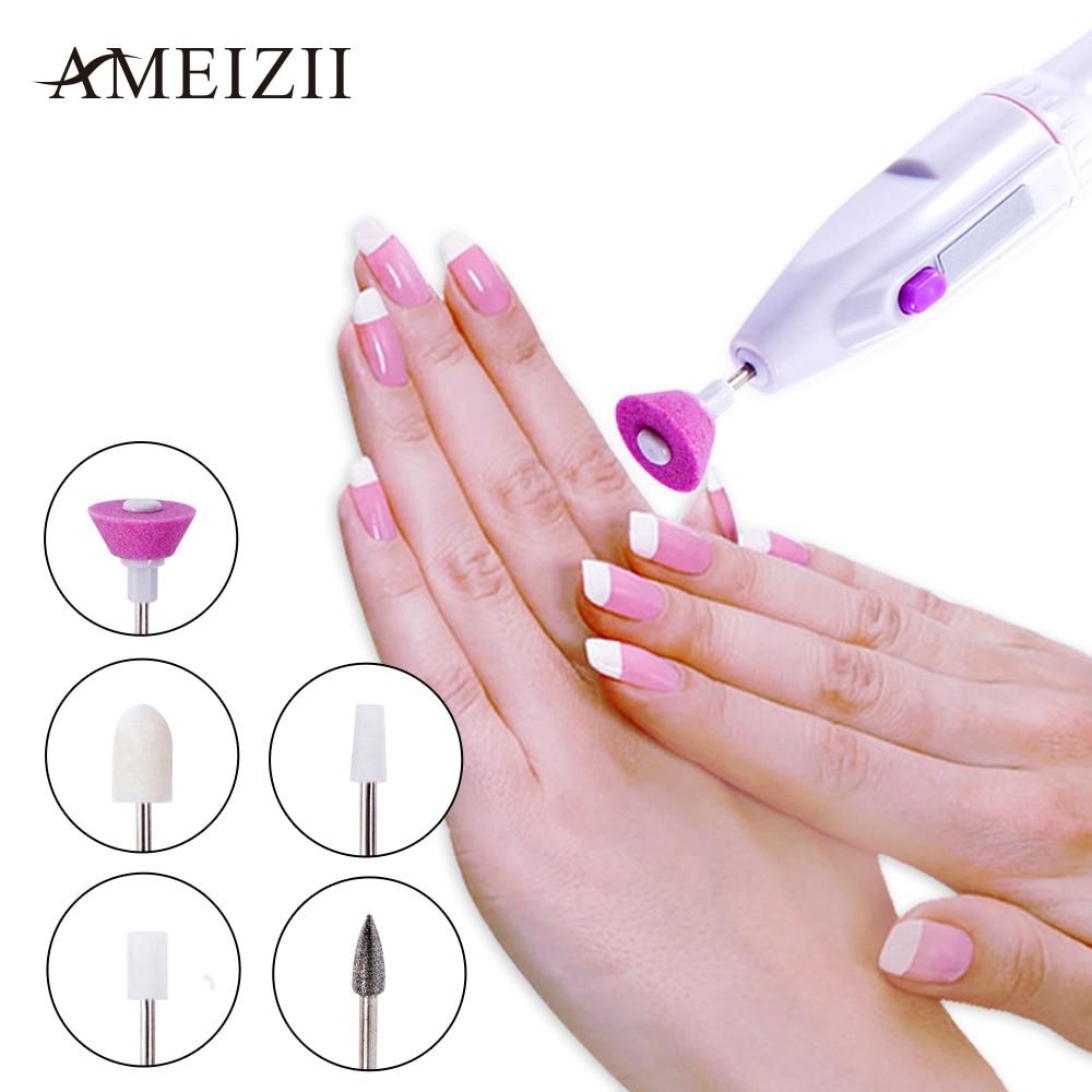 Hot Sale Ameizii 5bitsset Pro Electric Manicure Set Nail Art File