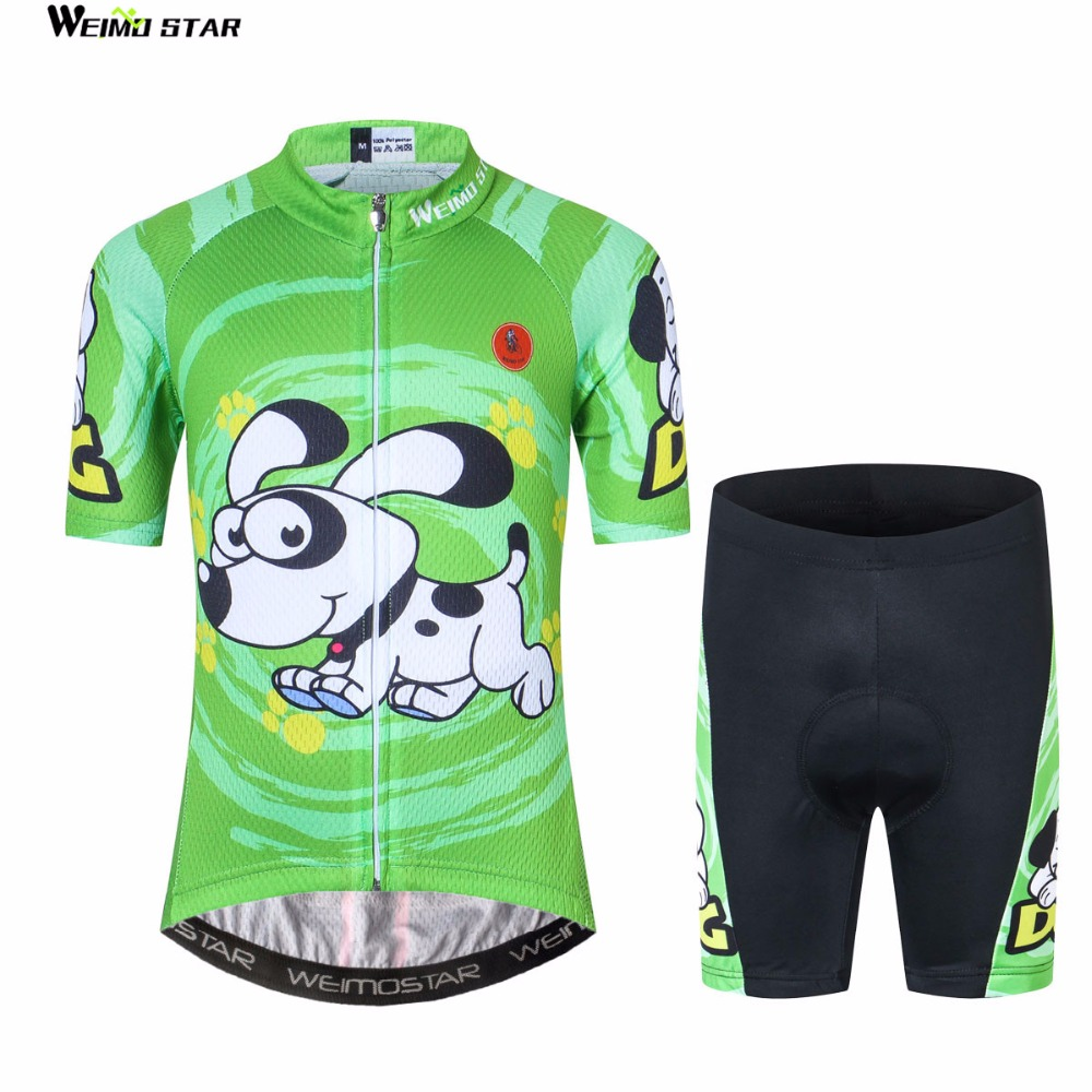 Cycling Jersey kids Bike jersey Shorts sets pro Children MTB Clothing Girls Boy Bicycle top bottom Team ropa ciclismo 2018 Green children s bicycle kids balance bike ride on toys for kids four wheels child bicycle carbon steel bike for children 1 2 years