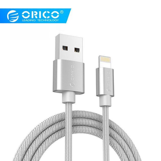 ORICO USB кабель для iPhone 8 7 6 6s SE 5S синхронизации данных USB кабель для iPad mini/air/pro для iPhone зарядное устройство для iPhone X Кабель