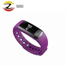 2 шт. SX102 умный браслет bluetooth монитор сердечного ритма трекер часы будильник Smart Браслет для андроид iOS PK miband