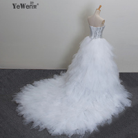 2015 New Bandage Tube Top Crystal Luxury Wedding Dress 2015 Bridal Gown Wedding Dresses Vestido De