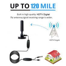 Get more info on the Indoor 120 Miles Digital TV Antenna TV satellite Signal Receiver Amplifier TV Radius Surf Fox Antena HDTV Antennas Aerial DVB-T2