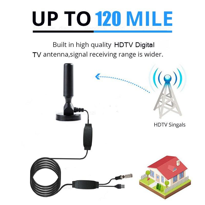 Indoor 320 Miles Digital TV Antenna TV Satellite Signal Receiver Amplifier TV Radius Surf Fox Antena HDTV Antennas Aerial DVB-T2