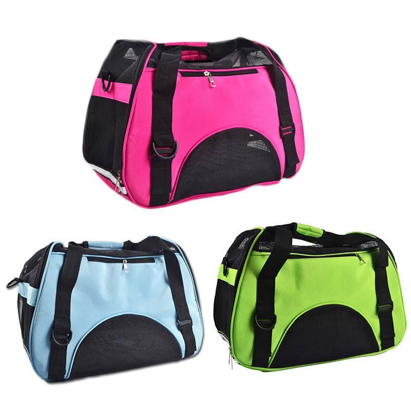 Travel Pet Dog Carrier Puppy Cat Carrying Outdoor Bags for Small Dogs Hand Bag Soft Pets Dog Corduroy 3 Colors