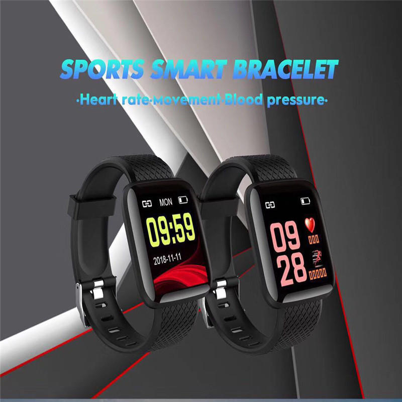 Bluebooth4.0 Smart Watches Heart Rate Blood Pressure Monitor Fitness Watches Tracker Bracelet Sports Smart Electronics