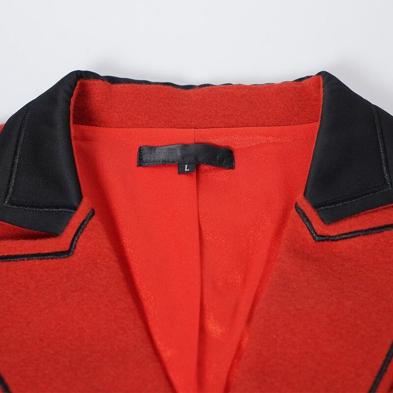 En Pièces Taille Deux Double Short Élégantes Femmes Blazer Court Orange 5xl Tenue Laine Croisé Et Ensemble Grande Décontractée Twinset S459 L IgSxq8