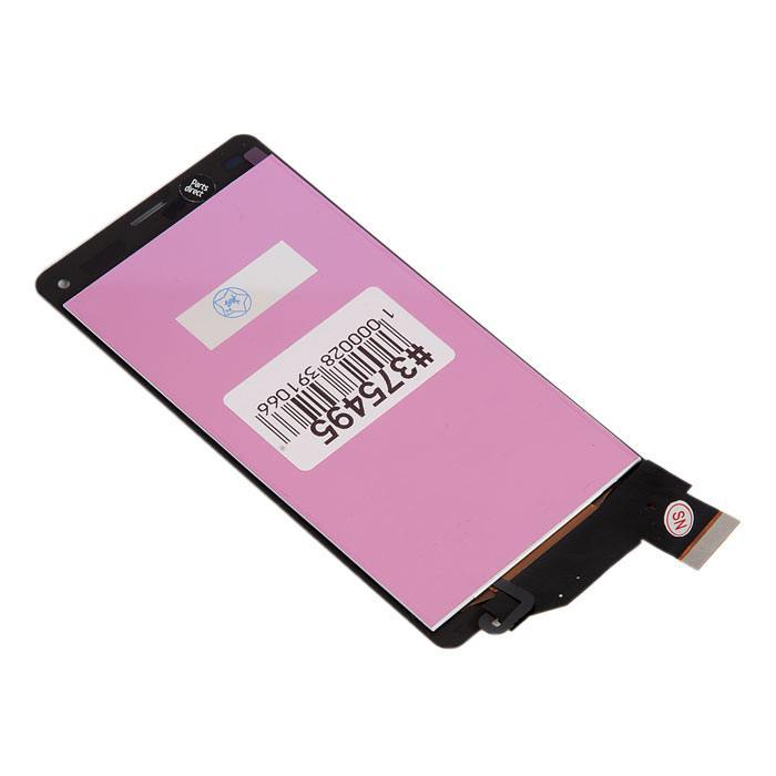 ФОТО display assembly with touchscreen for Sony for Xperia Z3 Compact D5803 black