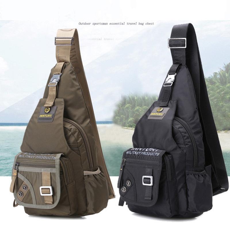 Climbing Bags Women Men Single Shoulder Messenger Chest Bag Outdoor Travel Military Cross Body Bags Sling Rucksack Back Pack Camping & Hiking