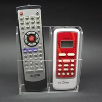 Arylic Television Air Conditioner Remote Control Holder Wall Mount Storage Box