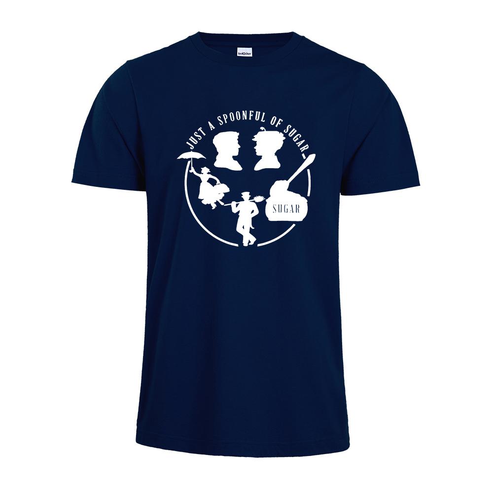Camiseta Mary Poppins con un poco de azúcar 5