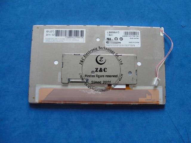 LB080WV3 (B2) LB080WV3 B2 جديد شاشة LCD الأصلية عرض ل LG المعدات الصناعية