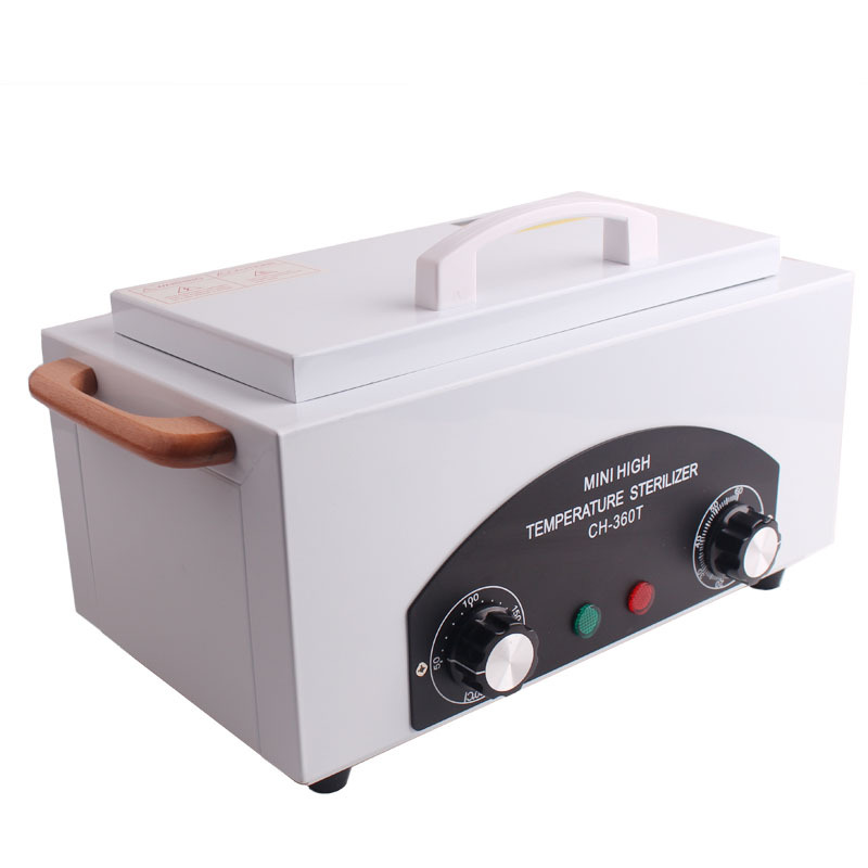 все цены на High Temperature UV Sterilizer Box Nail Art Tool Sterilizer Box with Hot Air Disinfection Cabinet Nail Art Equipment For Salon онлайн