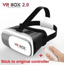 G oogleกระดาษแข็งVR BOX 2.0 IIมาร์ทโฟนชุดหูฟังแว่นตา3Dเสมือนจริงหมวกกันน็อคเพลิดเพลินไปกับW Alking D Ead +ควบคุม