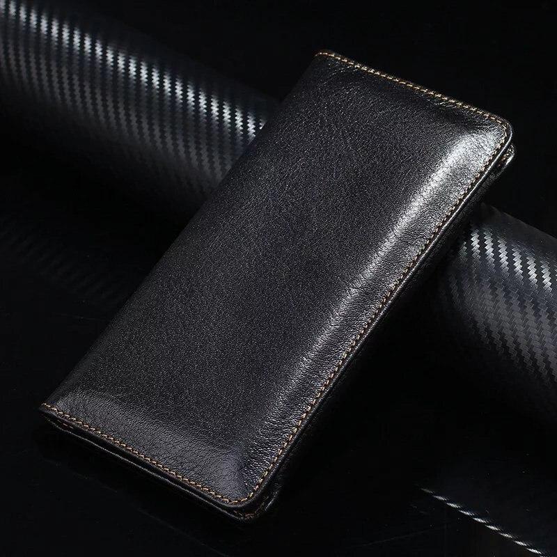 bilder für Vollrindleder telefon case hand brieftasche tasche für nokia 8, meizu m5 hinweis meizu u20, meizu pro 6 plus, meizu m3x m5s mx5e