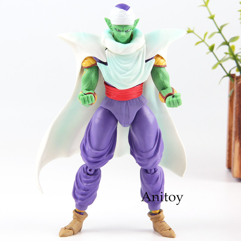 все цены на SHF Figuarts Dragon Ball Z King Piccolo PVC Figuras Dragon Ball Piccolo Figure Collection Model Toy Gift 16cm онлайн