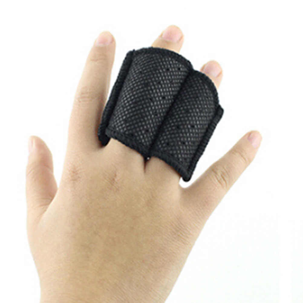 Protector de 1 pieza de compresión de baloncesto Protector de dedos para deportes al aire libre