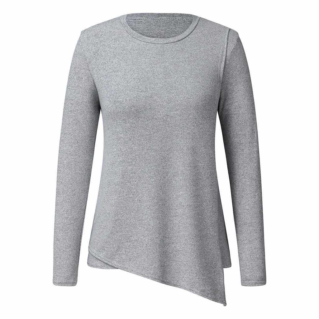 Femmes maternité à manches longues sweat pour maman Comfy allaitement décontracté hauts chemises pour l'allaitement vêtements pour femmes enceintes
