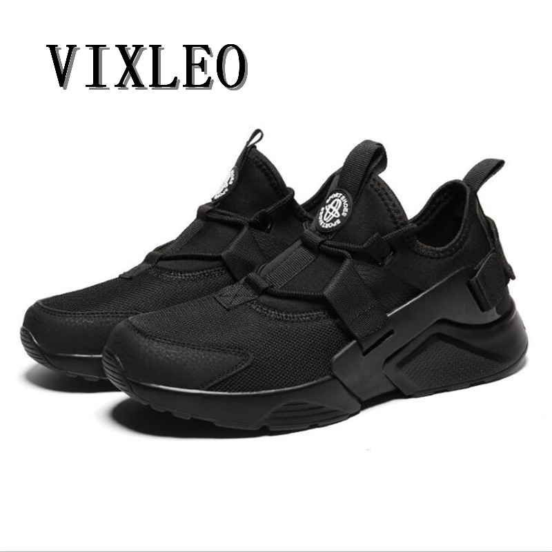 VIXLEO men running shoes Outdoor Huaraching Air Sneakers Breathable Runners Shoes Platfo ...