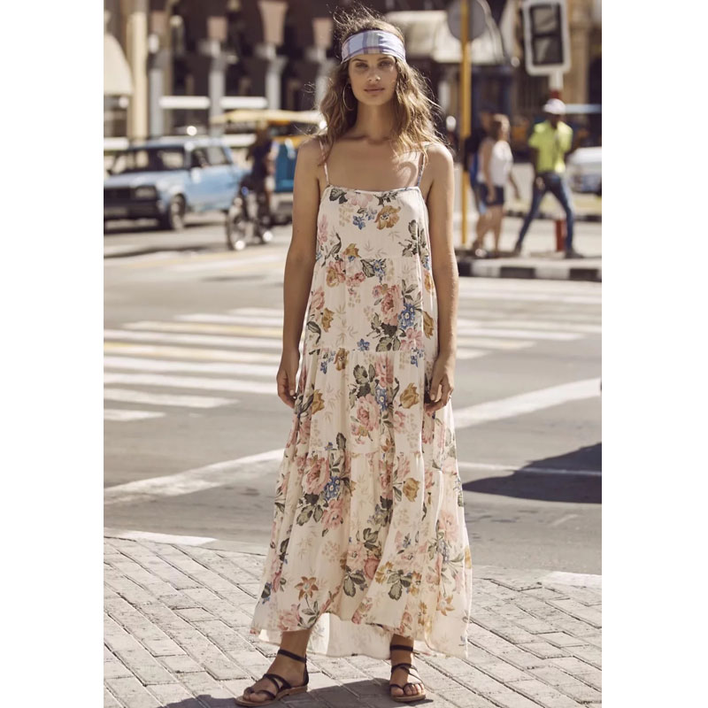 good out x first rate 50% price Boho Slip Dress Women 2019 Summer Hippe Bohemian Holiday Chic ...