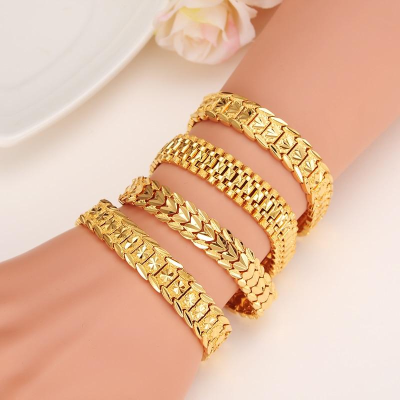 браслеты золотые широкие фото женские