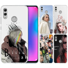 Billie Eilish Cantor da Música para o Caso Huawei Honor 8X Y9 9 10 Lite Jogar 8C 8A 8 S Pro V20 20i 10i Y6 Y7 2019 Disco PC Tampa Do Telefone(China)