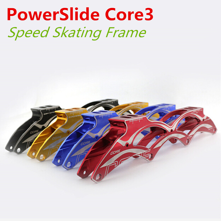 PowerSlide PS Core3 Inline Speed Skate Frame 4 X 100mm 110mm Core Generation 3 4 Wheels