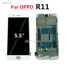 Tested 5.5 inch LCD For OPPO R11 LCD Display Touch Screen Display Replacement Assembly FOR oppo r11 lcd keklle oppo r11 все включено матовое силикон выдерживает падение мягкой оболочки защитный рукав для мужчин и женщин бирюзовый синий 5 5 дюйма