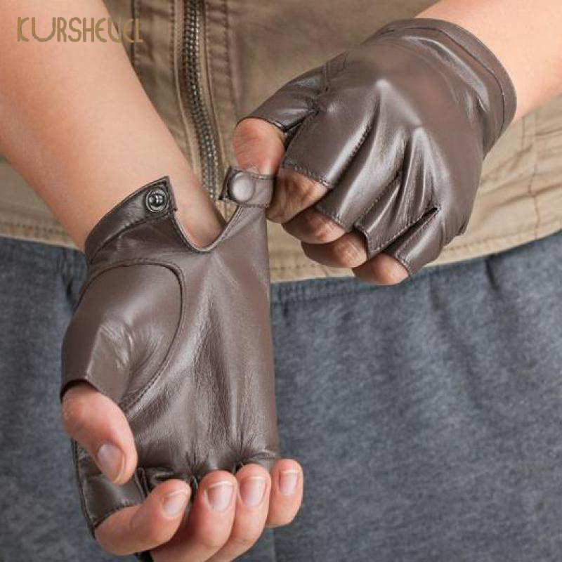 KURSHEUEL Visoka kvaliteta od prave kože Rukavice Muškarci Žene - Pribor za odjeću - Foto 2