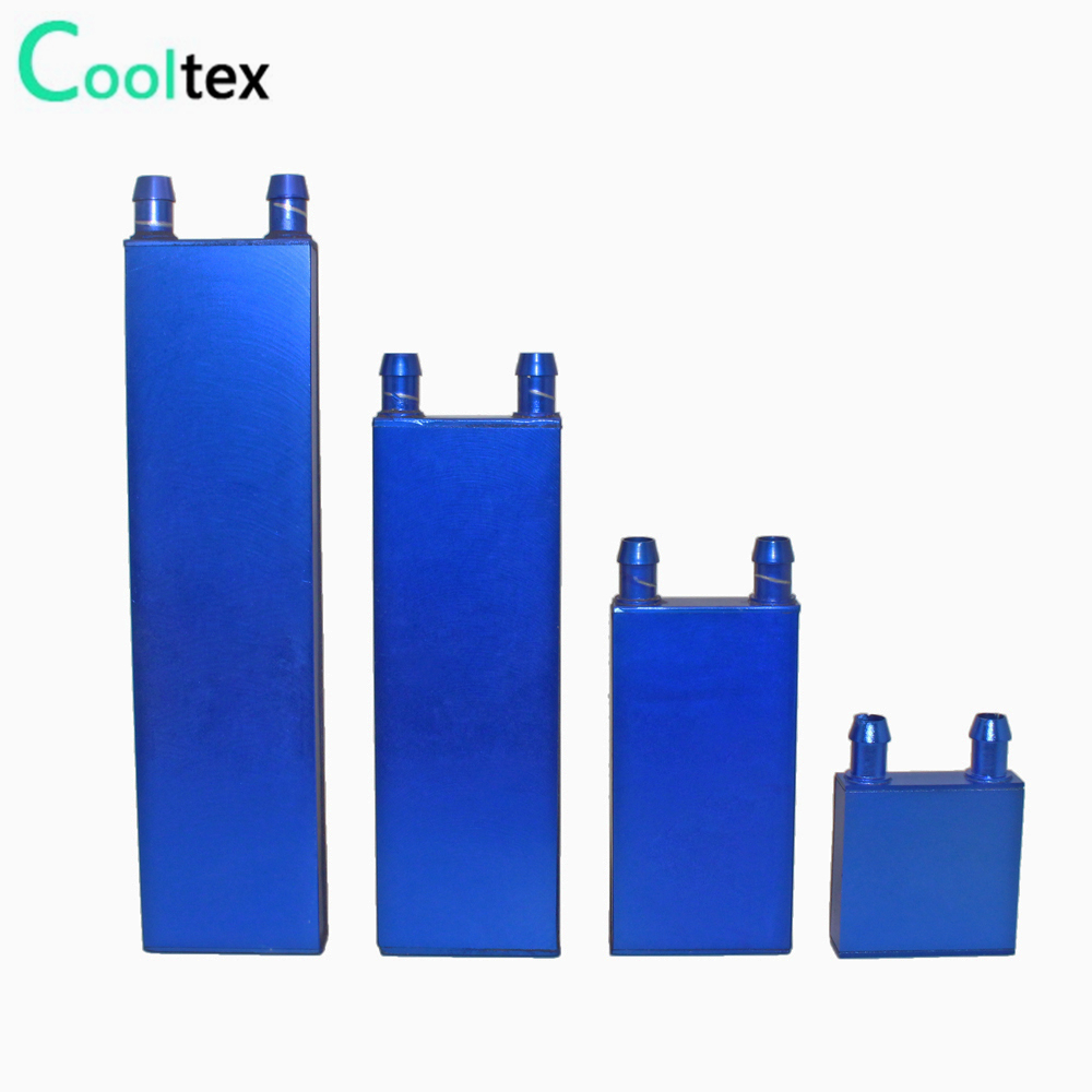 Aluminum Water Cooled Block Cooling Liquid Waterblock For Industrial Refrigeration Equipment Cooler