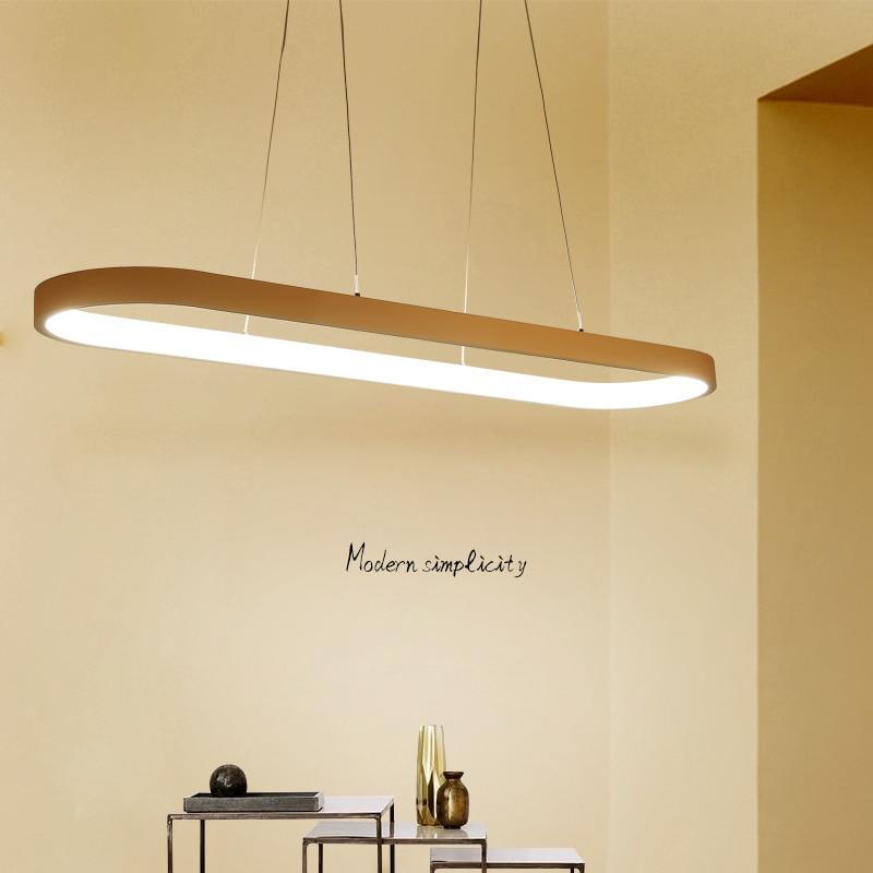 где купить New Creative modern LED pendant lights Kitchen acrylic+metal suspension hanging ceiling lamp for dinning room lamparas colgantes по лучшей цене