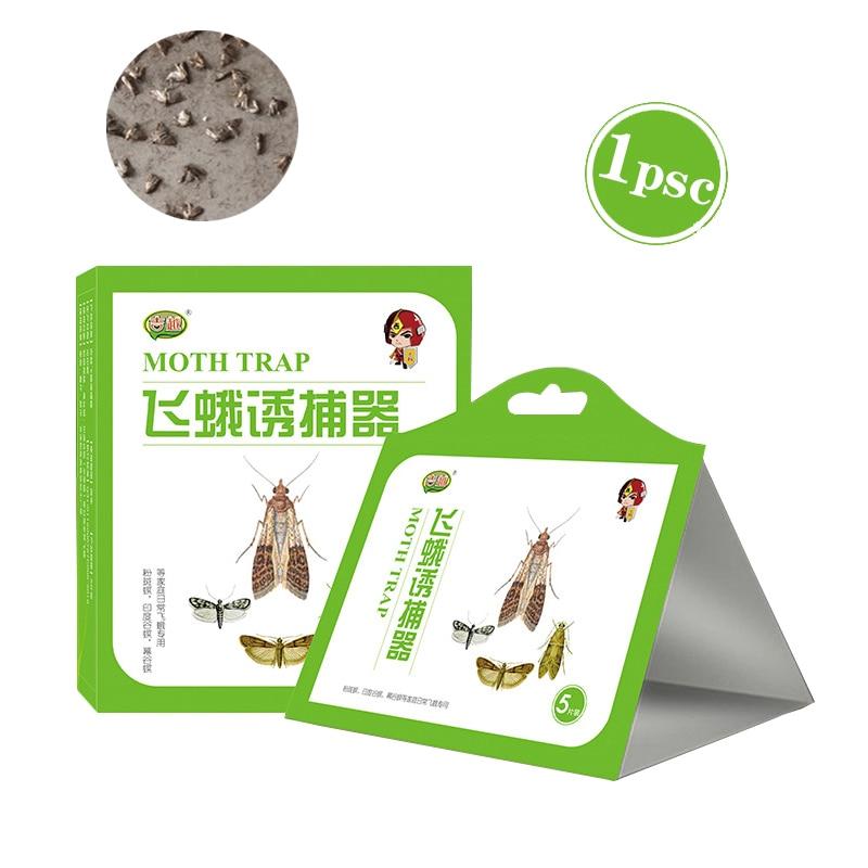 1pcs Clothes Food Kitchen Pantry Moth Moth Killer Trap Pheromone Trap Attractive Pheromone Factory Family