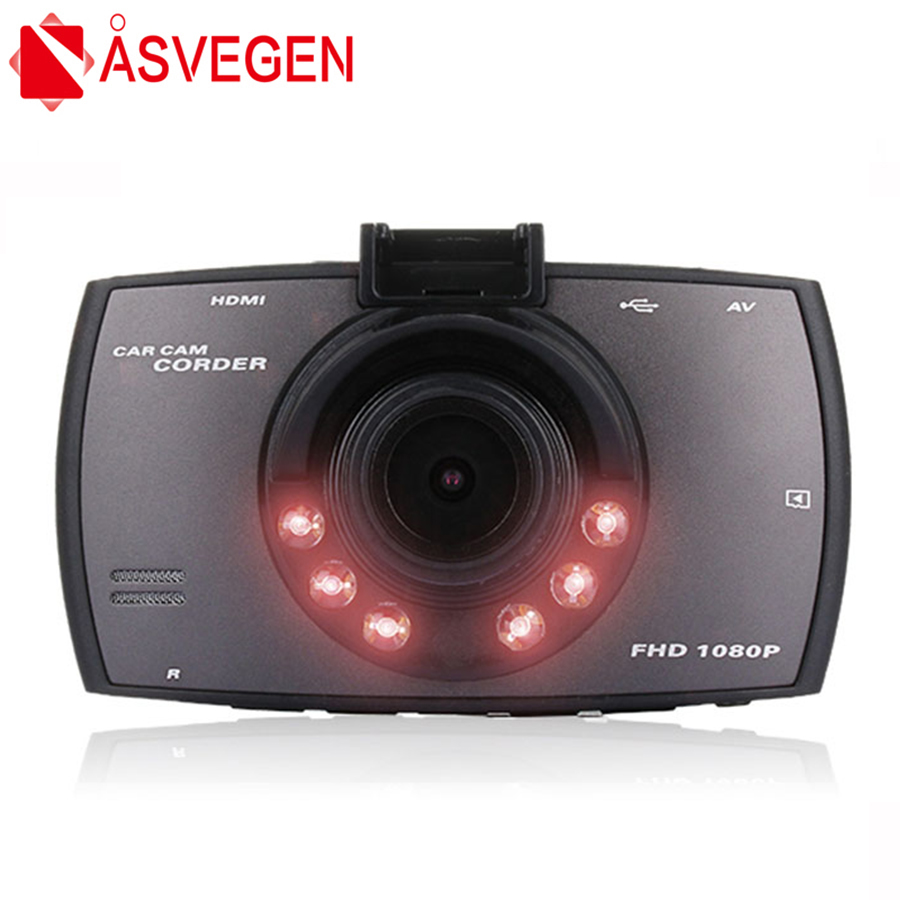 Asvegen Car DVR Dash Cam Dual Lens Camera Full HD 1080P 2.7 dash camera WDR Video Recorder G-Sensor Night Vision DVR Corder ...