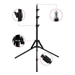 Image 3 - Fosoto Stativ Light Stand & 1/4 Schraube tragbare Kopf Softbox Für Foto Studio Fotografische Beleuchtung Flash Regenschirme Reflektor