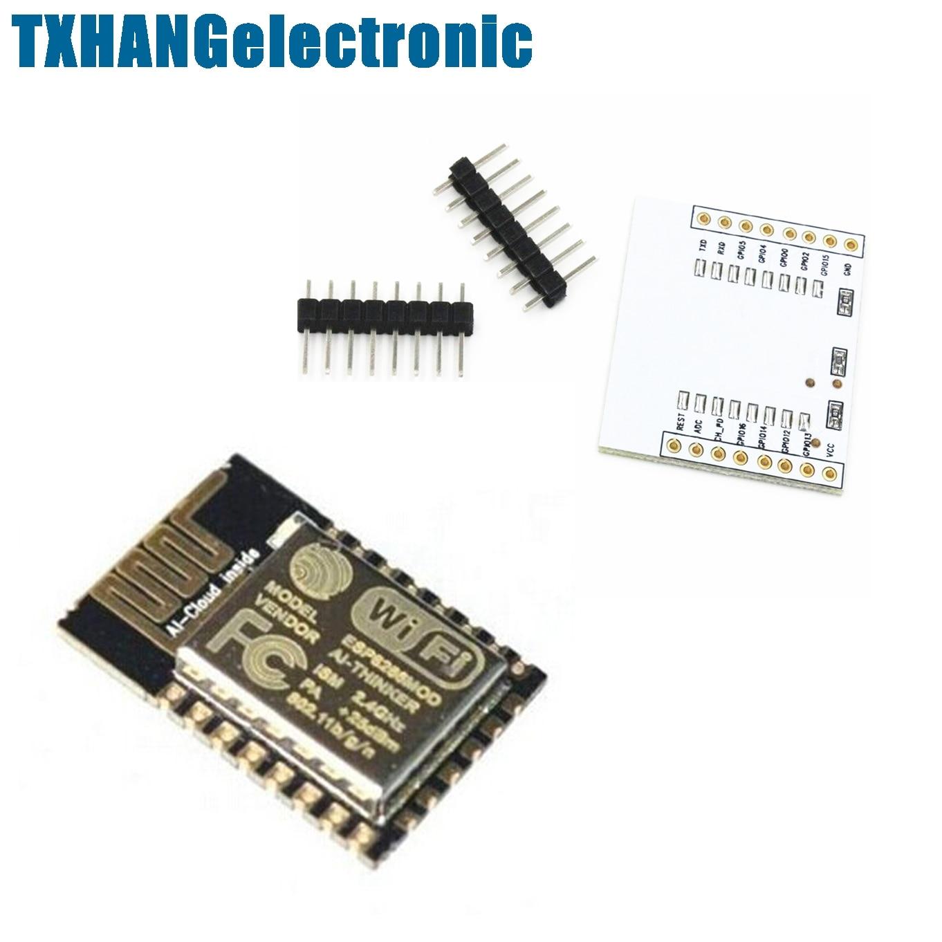 IO Adapter Plate Expansion 2PCS ESP8266 Esp-07 Remote Serial Port WIFI Module