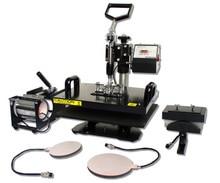 Combo manual heat press machine 8in1