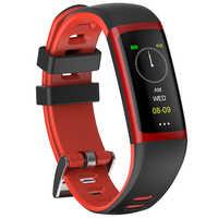 Tezer G26 pulsera inteligente Monitor de presión cardíaca de salud pulsera inteligente rastreador de fitness con IP68 a prueba de agua para hombre y mujer