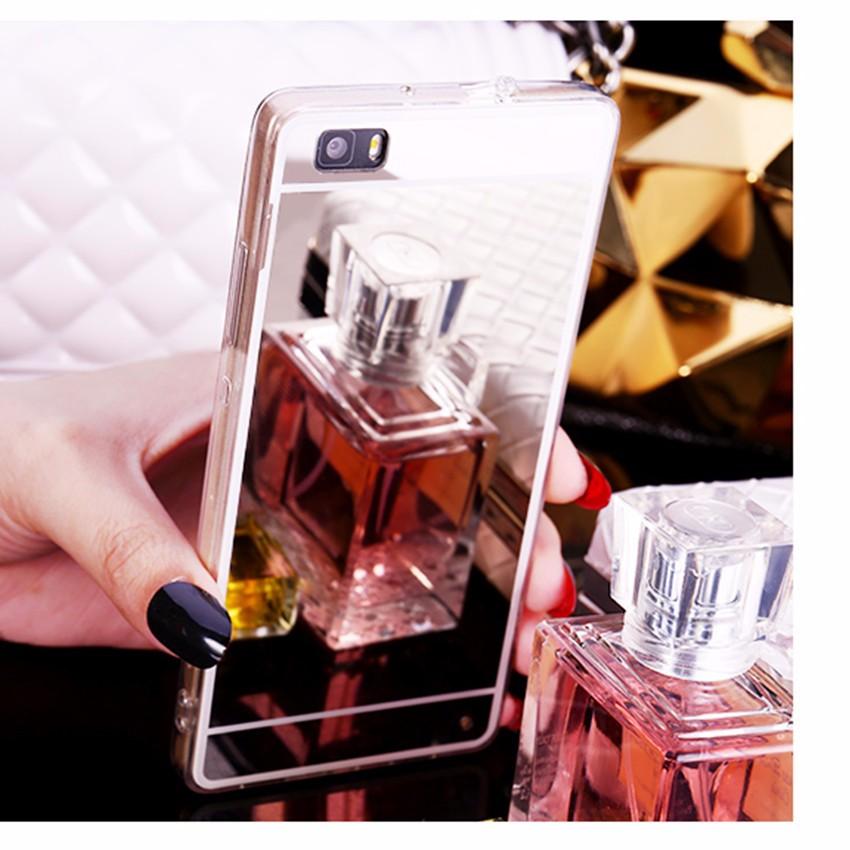Hot! luksus lustro galwanizacja miękkie przezroczysty tpu case pokrywa dla huawei p8/p8 lite p9 p9 plus p9 lite g9 6