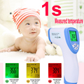 Infrared Thermometer Muti-fuction Digital Baby Thermometer Body Baby/Adult Forehead Non-contact Temperature Measurement Tool