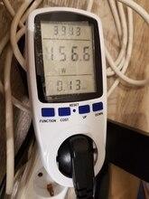 HiDANCE AC Power Meters 220v digital wattmeter eu energy meter watt monitor electricity consumption Measuring socket analyzer