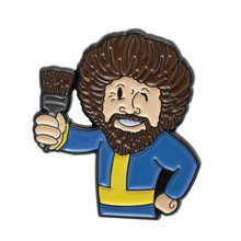 Bob Ross Enamel Enamel Pin(China)