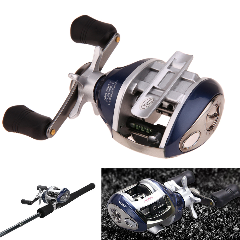 Super Strong 2017 Right Left Hand Bait Casting Fishing Spinning Reel 12+1BB 6.4:1 Baitcasting Fishing Reel Lure For Fishing