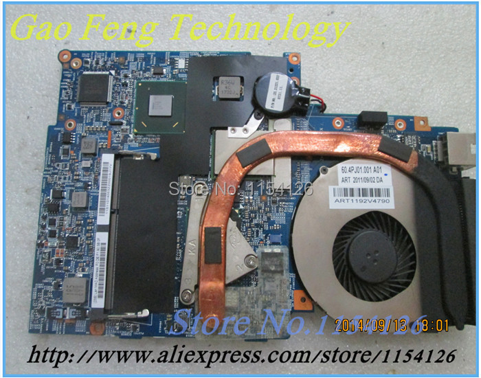 laptop motherboard 48.4PJ01.011 FOR LENOVO U470 LU470 U400 10334-1 HM65 DDR3 non-integrated 100% test