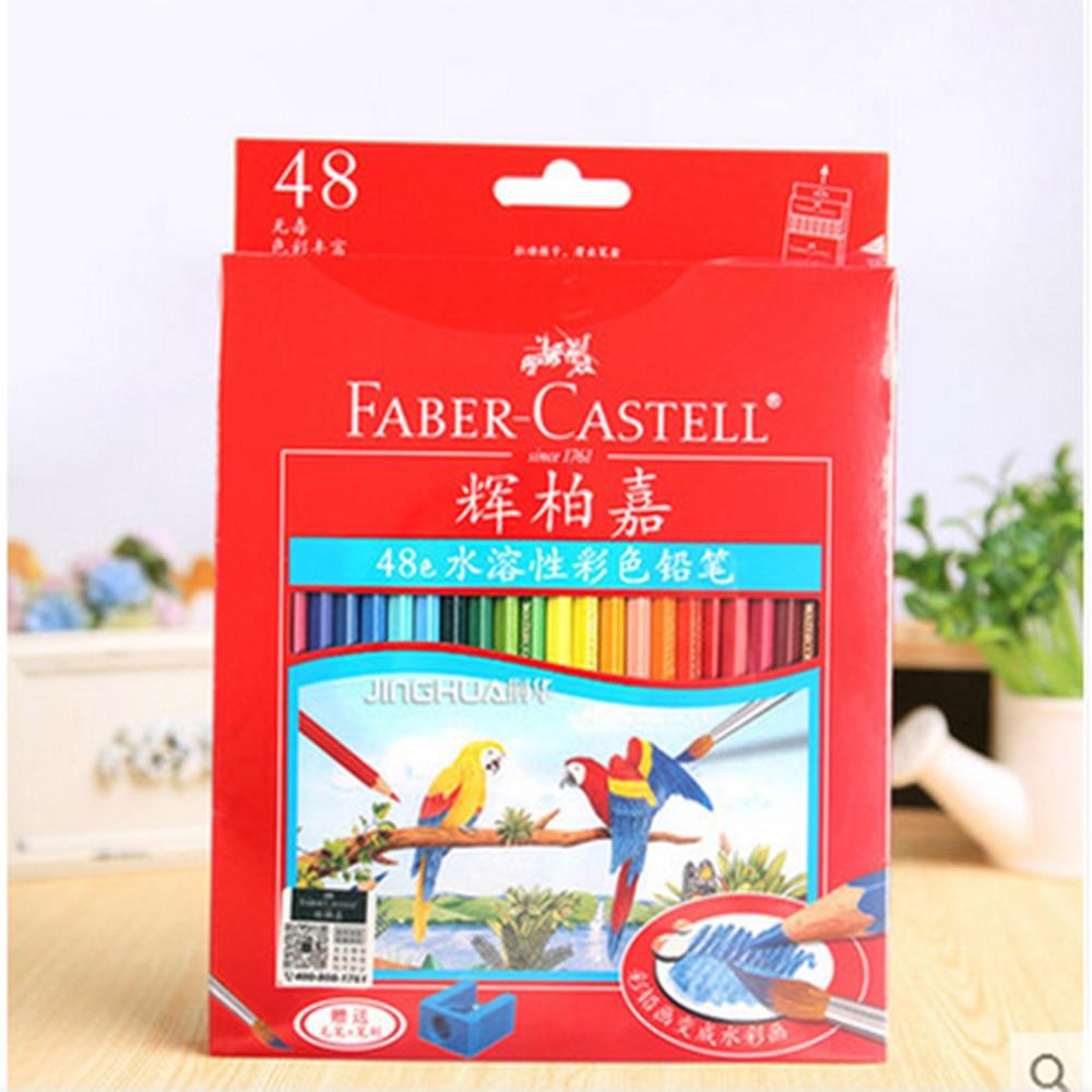 где купить 12 24 36 48 60 Colors Non-toxic Lapis De Cor Profissional Prismacolor Colored Pencil For Painting Drawing Sketch дешево